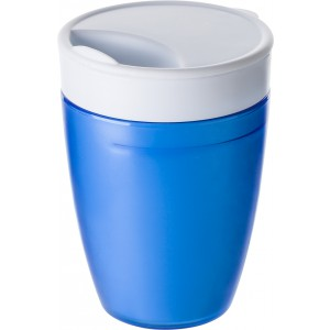 2-in-1 drinking mug, cobalt blue (7470-23)