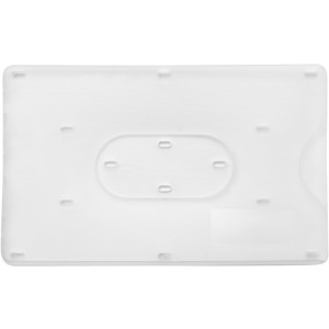Bank card holder for one card, white (8358-02CD)
