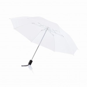 Deluxe 20? foldable umbrella, white (P850.263)