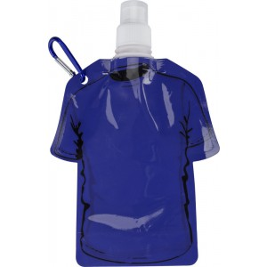 Foldable and leak-proof PP water bottle, cobalt blue (7877-23)
