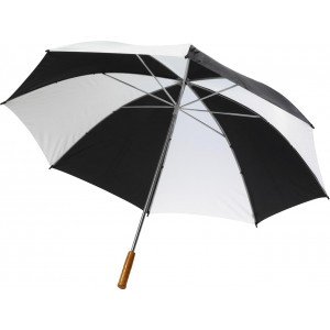 Golf umbrella, black/white (4142-40)