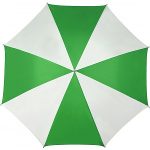 Golf umbrella, green/white (4142-44)