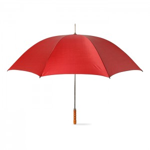 Golf umbrella with wooden grip (KC5086-05)