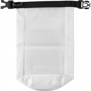 Polyester (210T) watertight bag, White (8565-02)