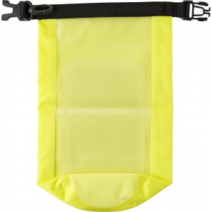 Polyester (210T) watertight bag, Yellow (8565-06)