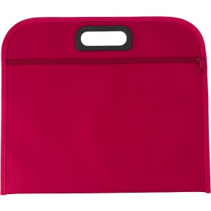 Polyester (600D) conference bag, red (6451-08)