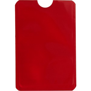 RFID card holder, red (8185-08)