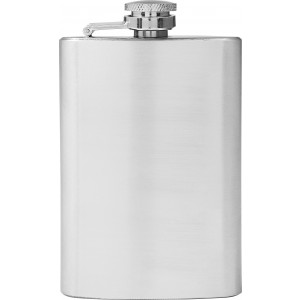 Stainless steel flask (118 ml), silver (8909-32CD)
